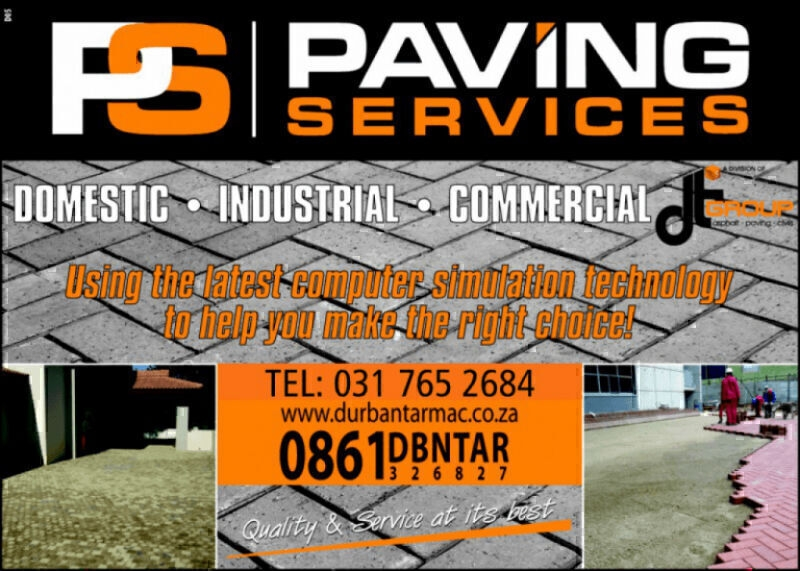 Paving Services, Durban contractor