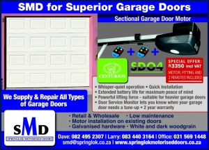 SMD Springlok Motorised Doors