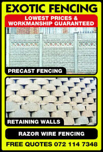 Exotic Fencing & paving