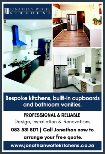 Jonathan Wolfe Kitchens & Cupboards, Durban