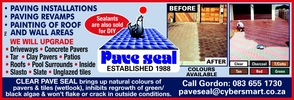 Pave Seal, Durban contractor