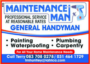 Maintenance Man, Durban