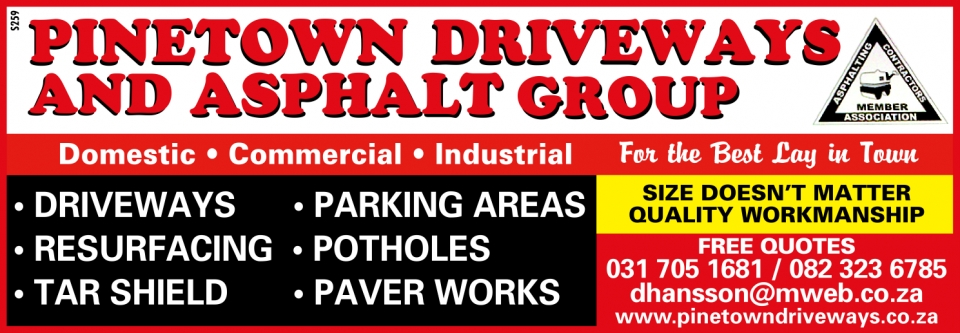 Pinetown Driveways, Durban contractor