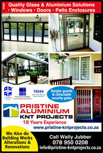 Pristine Aluminium KNT Projects, Durban