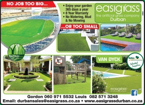 Easigrass™ - The artificial grass company, Durban