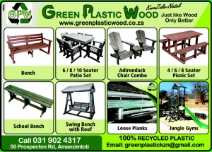 Green Plastic Wood