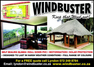Windbuster Blinds, Durban