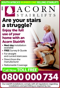 Acorn Stairlifts, Durban