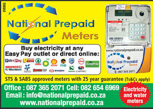 National Prepaid - Need a prepaid meter?