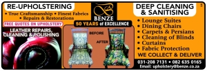 Benze Upholsterers, Durban