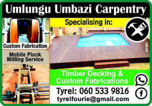 Umlungu Umbazi Carpentry