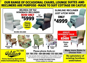 De Villiers Home Seating, Durban