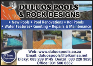 Duluos Pools & rock design