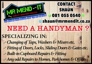 Mr Mend It - Quality Handyman Services