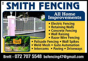 Smith Fencing | All Home Improvements