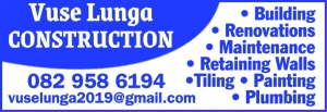 Vuse Lunga  Construction