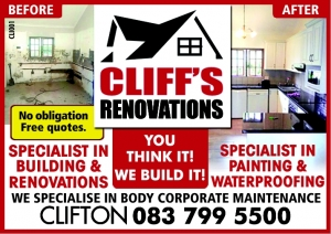 Cliffs Renovations